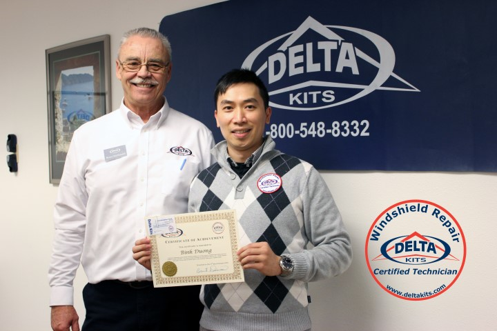 Become a Certified Delta Kits Windshield Repair Technician!