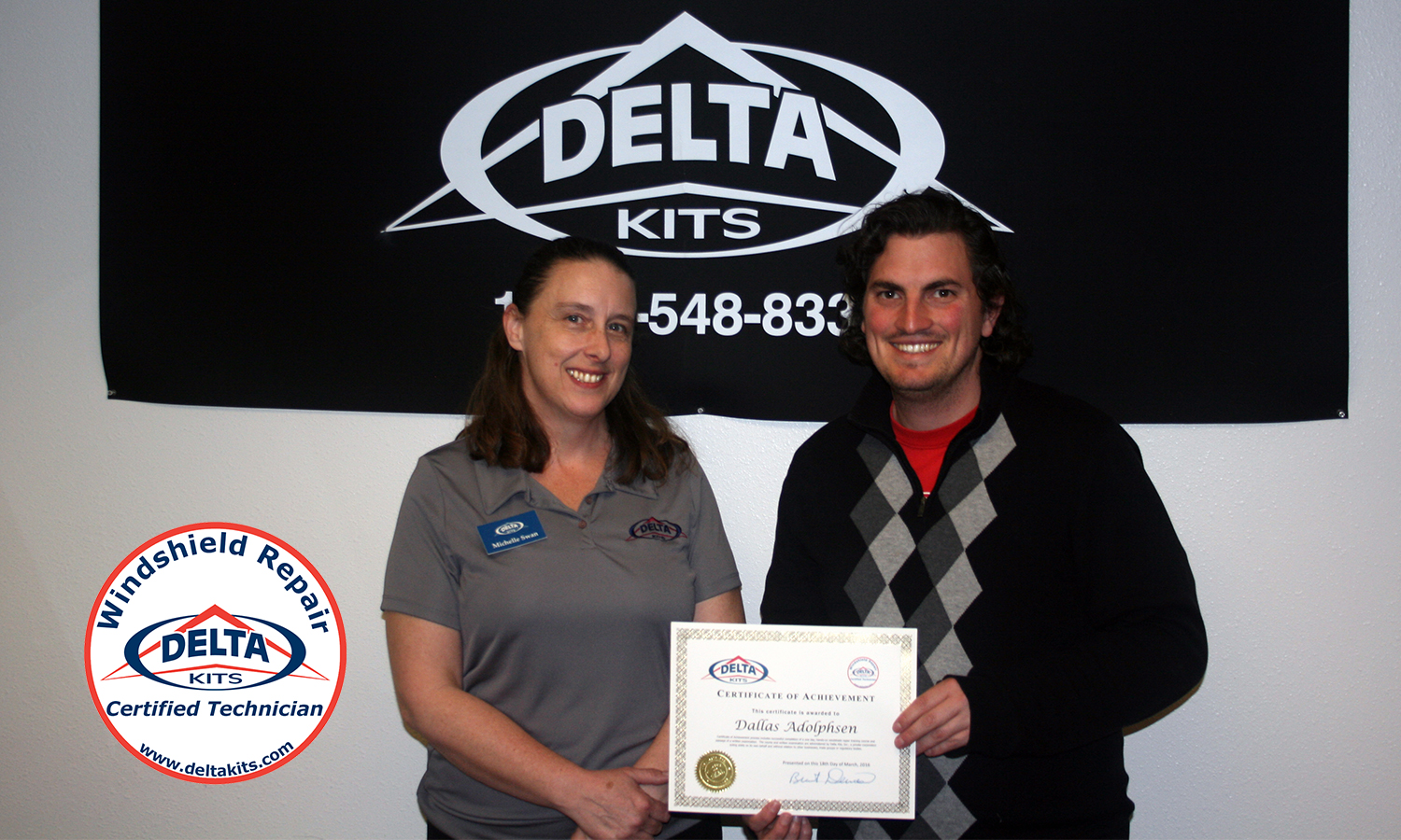 Delta Kits Certified Technicians April 2016