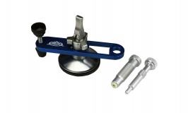 B150 Windshield Repair Bridge Blue