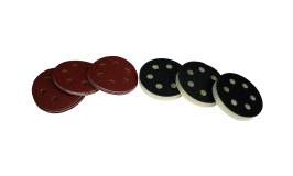 "Metabo 3 1/8"" Interface Pads and Sanding Discs 80 Grit"