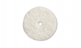 "Dremel 414 Felt Polishing 1/2"" Wheels, 25 pack"