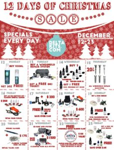 December 12 Days of Christmas Sale!