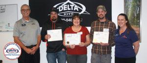Delta Kits Certified Technicians