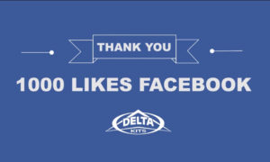 Thank you for 1000 Likes on Facebook!