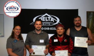 Congratulations to our latest group of Delta Kits Certified Windshield Repair Techinicians.
