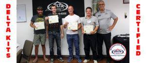 Delta Kits Windshield Repair Certified Technicians
