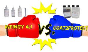 Infinity 4.1 vs. Coat2Protec