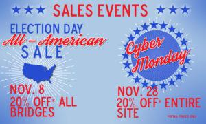 November Sales Events!