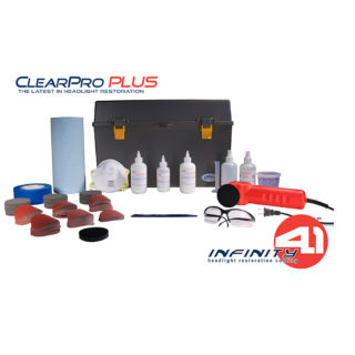 ClearPro PLUS Headlight Restoration System