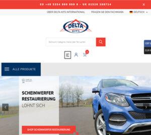 Delta Kits Inc. unveils user-friendly, customer-oriented, feature-rich, multilingual website.