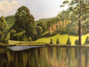 Landscape Painting by Hickmott