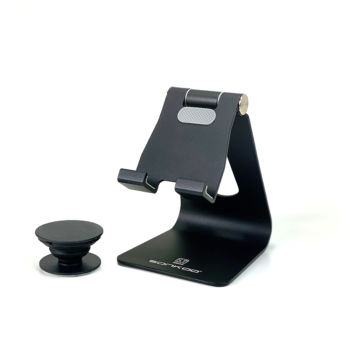 Cell Phone Stand with Phone Grip Socket