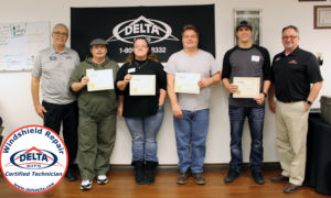 Windshield Repair Training photo February 2017